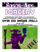 Space Age Sorcery Version 1.5