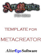 Ars Magica 5th Edition Template
