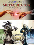 Metacreator & Savage Worlds