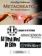 Metacreator & Unisystem
