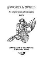 Sword & Spell - Monsters & Treasure - Booklet 2