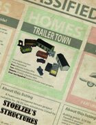 Trailer Town Playset