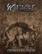 Werewolf: the Forsaken 2nd Edition Condition Cards