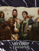 Vampire 20th Anniversary Edition: The Dark Ages Storyteller Screen