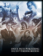 Onyx Path 2016-2017 Publishing Brochure