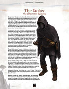 Adversaries of the Righteous: The Broker and Ifraja the Librarian