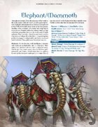 Hundred Devils Night Parade: Elephant/Mammoth and Fulope