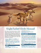 Hundred Devils Night Parade: Eight Tailed Mole Hound and Mahicara, the Volcanic Earthwalker