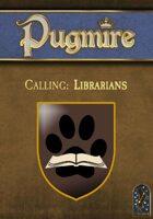 Calling: Librarians