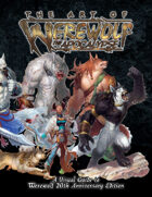 W20 Art of Werewolf the Apocalypse