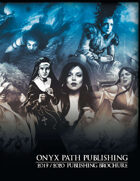 Onyx Path 2019-2020 Publishing Brochure