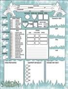Frostlands of Fenrilik Character Sheet