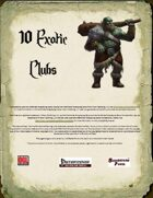 Ten Exotic Clubs