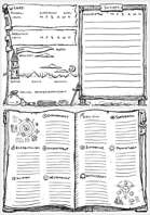 Unofficial Frostgrave Wizard and Warband Sheet v2