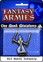 Elf Army: Heavy Infantry