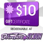 DriveThruFiction $10 Gift Certificate/Account Deposit