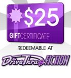 DriveThruFiction $25 Gift Certificate/Account Deposit