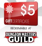 Dungeon Masters Guild $5 Gift Certificate/Account Deposit