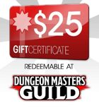 Dungeon Masters Guild $25 Gift Certificate/Account Deposit