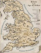 Map of Arthur's Britain