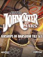 John Carter of Mars: Airships of Barsoom Tile Set