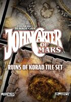 John Carter of Mars: Ruins of Korad Tile Set