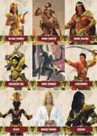 John Carter of Mars: Character and Token Card Deck