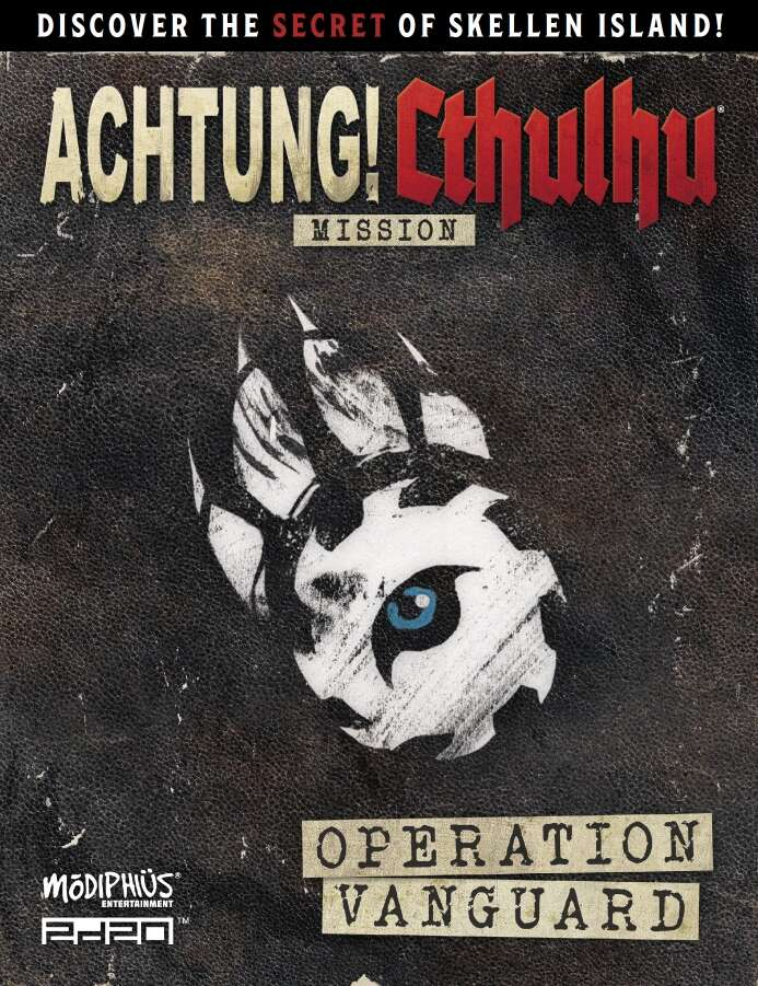 Achtung! Cthulhu 2d20: Operation Vanguard