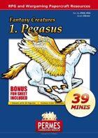 Fantasy Creatures - Set1: Pegasus