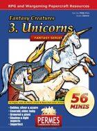 Fantasy Creatures - Set3: Unicorns