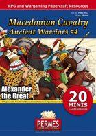 Ancient Warriors Set 4 - Macedonian Cavalry
