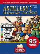 Artillery #2 FACTIONS - 30 Years War
