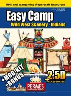 EASY Wild West Indian Camp and MOD-KIT