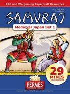 SAMURAI - Medieval Japan Set 1