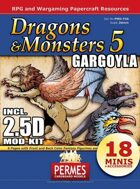 Dragons &Monsters 5: Gargoyla+MOD-KIT