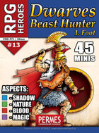 Dwarf Beast Hunter - RPG HEROES 13