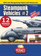 Steampunk Vehicles Set 2