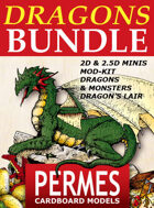 DRAGONS & MONSTERS x7 [BUNDLE]