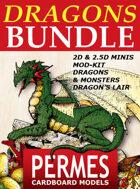 DRAGONS & MONSTERS x7 [BUNDLE]