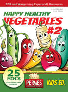 Happy Healthy Funny VEGETABLES #2