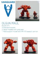 VANGUARD Olgun MAUL squad (6) 15mm