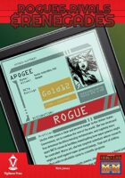 Rogues, Rivals & Renegades: Apogee