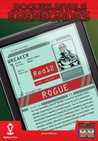 Rogues, Rivals & Renegades: Breaker