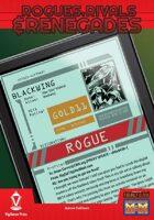 Rogues, Rivals & Renegades: Blackwing