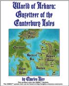 World of Arkara: Gazetteer of the Canterbury Isles