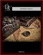 5E - 100 Dwarf Trinkets