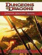 Dungeon Magazine Annual, Vol. 1 (4e)