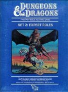 Dungeons & Dragons Expert Set Rulebook (BECMI ed.) (Basic)