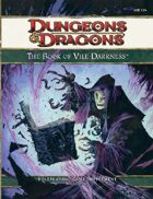 Book of Vile Darkness (4e)