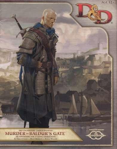 Cover of Murder in Baldur's Gate